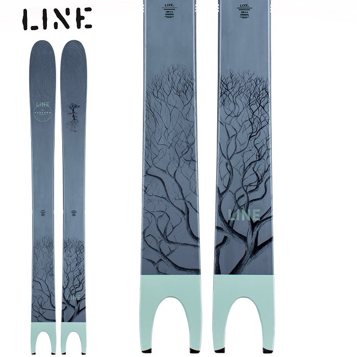-LINE ライン- スキー板 単品 [LINE PESCADO] ペスカド 20-21モデル 送料無料