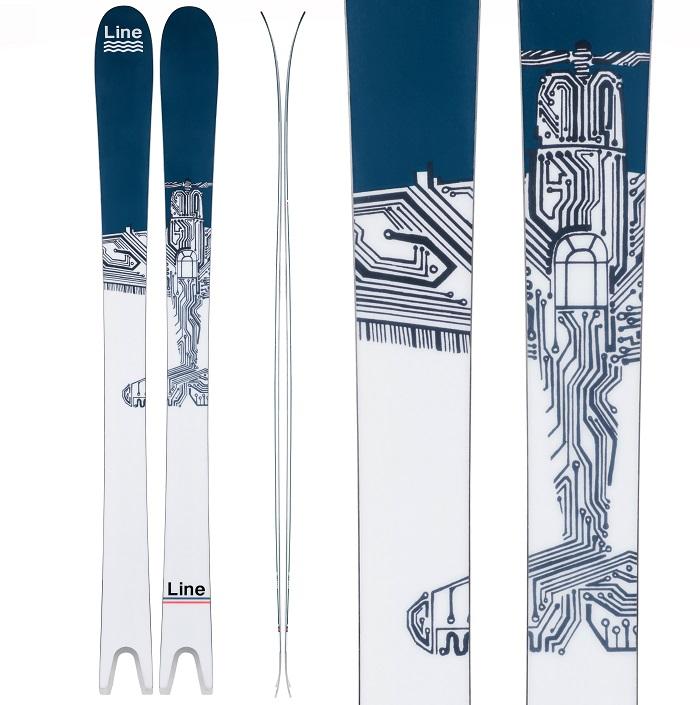-LINE ライン- スキー板 単品 [LINE SAKANA] サカナ 19-20モデル 送料無料
