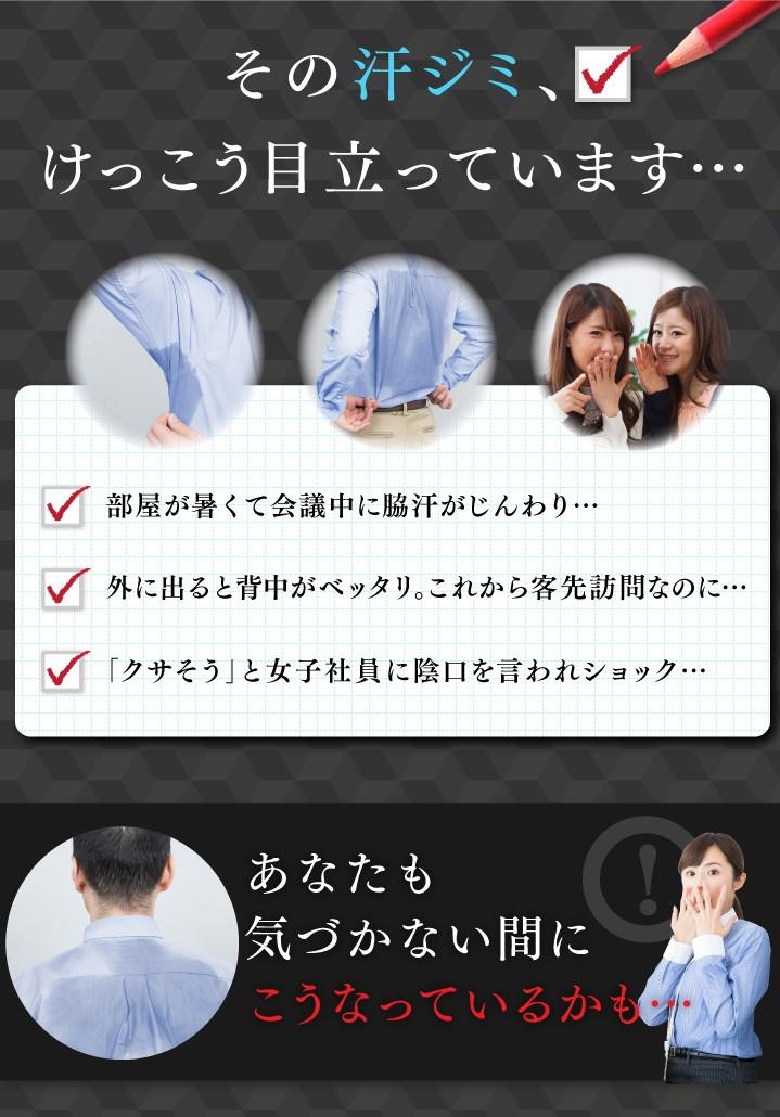 【送料無料】アシストデュアルシャツ3枚組