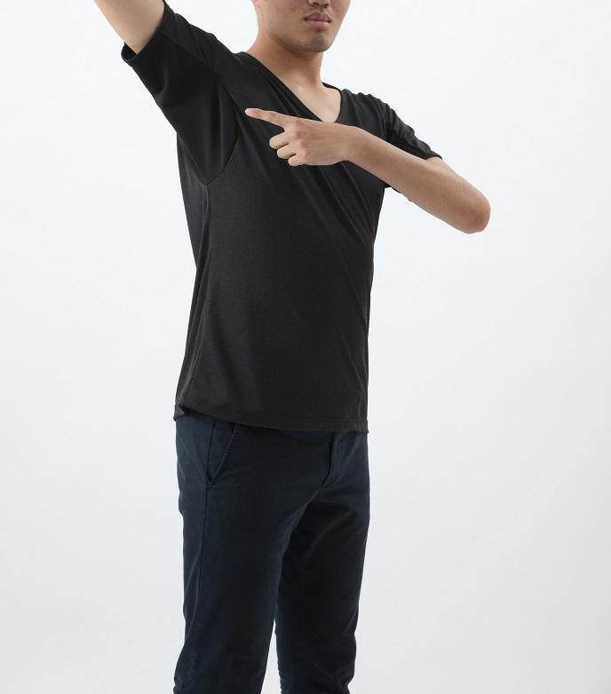 アシストデュアルシャツPLUS(脇汗強力ガード)(3L)