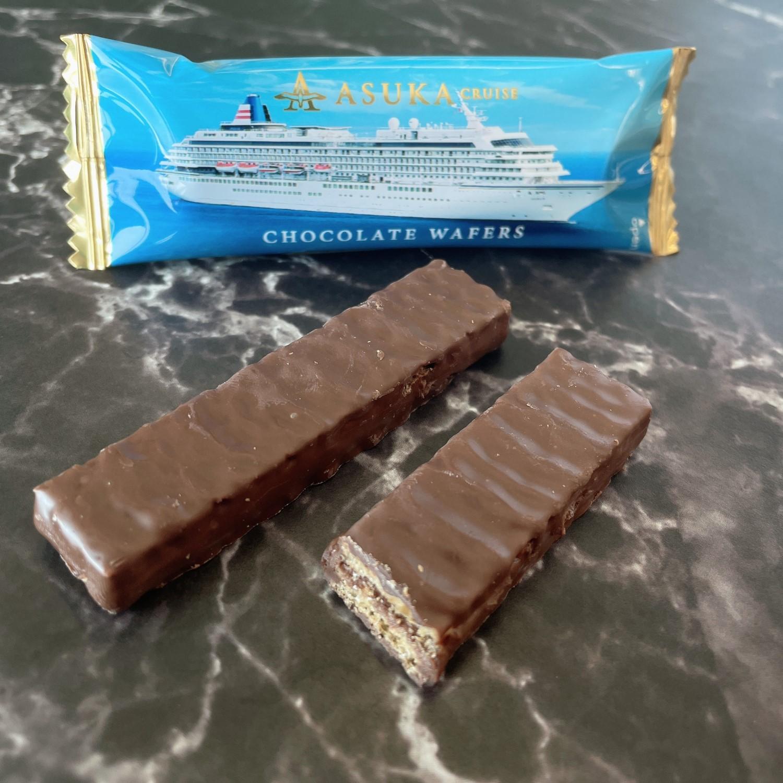 チョコレートウェハース