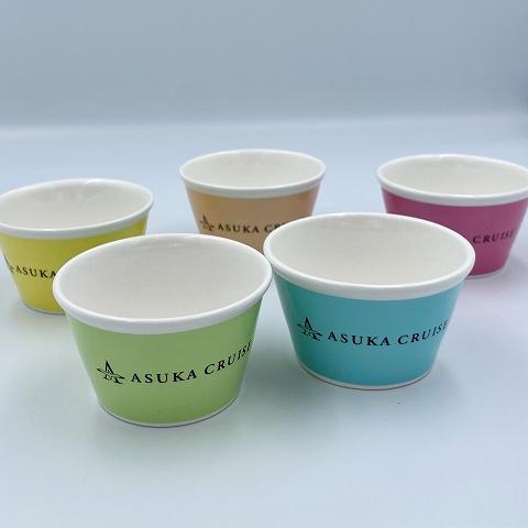 飛鳥クルーズオリジナル アイスクリームカップ(5個入り)