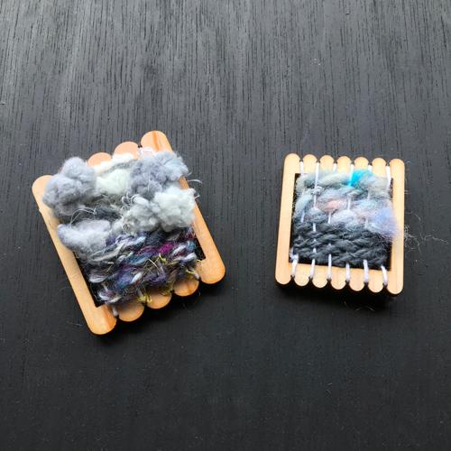 織りパーツ_手織りミニフレームA