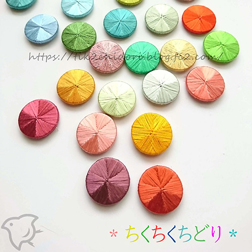 ●糸ボタン_ディスクモールド 八角形A