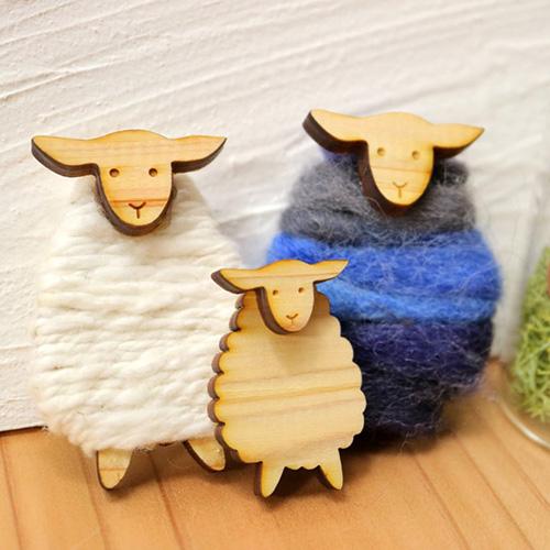 糸巻きパーツ_羊A