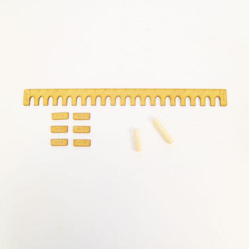【各パーツの単品販売。追加・修理などに】木製ディスプレイ棚用バックボード付属品 各種パーツ