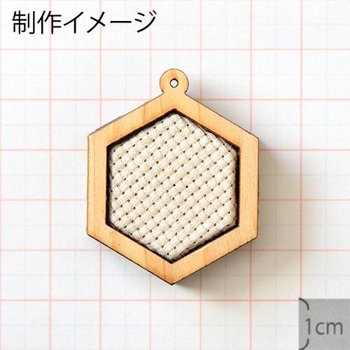 あすなろフレーム(刺繍用)_グラフィック 六角形A