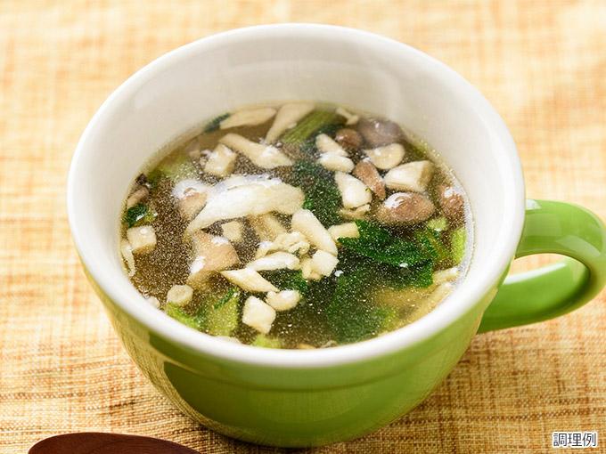 まるごと信州スープ 信州産ポークときのこのスープ