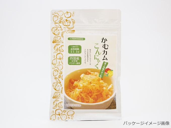 【数量限定】かむカムこんにゃく 柚子胡椒チキン味