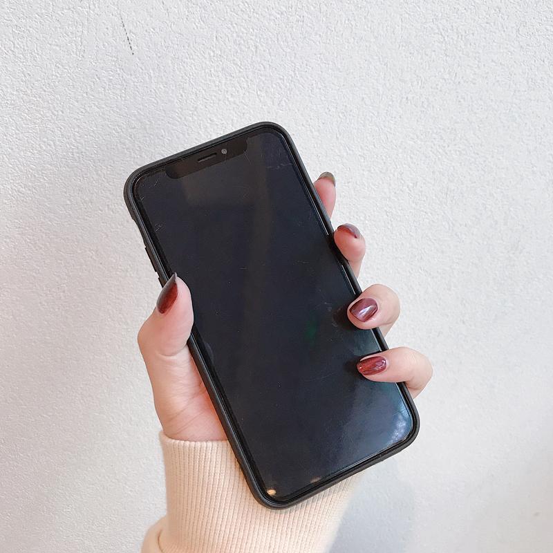 iPhoneSE(第2世代)/8/7対応 iPhone11/11Pro/11ProMax対応 iPhoneXS/X/XR/XSMax対応 iPhone8Plus/7Plus対応 ミラー調ケース 背面ケース ハードケース TPU OG40