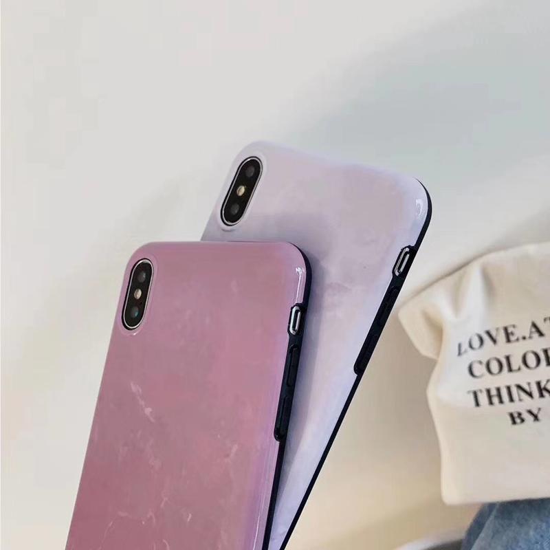 iPhoneSE(第2世代)/8/7対応 iPhone11/11Pro/11ProMax対応 iPhoneXS/X/XR/XSMax対応 iPhone8Plus/7Plus対応 ハードケース 背面ケース 大理石調 マーブル TPU OG46
