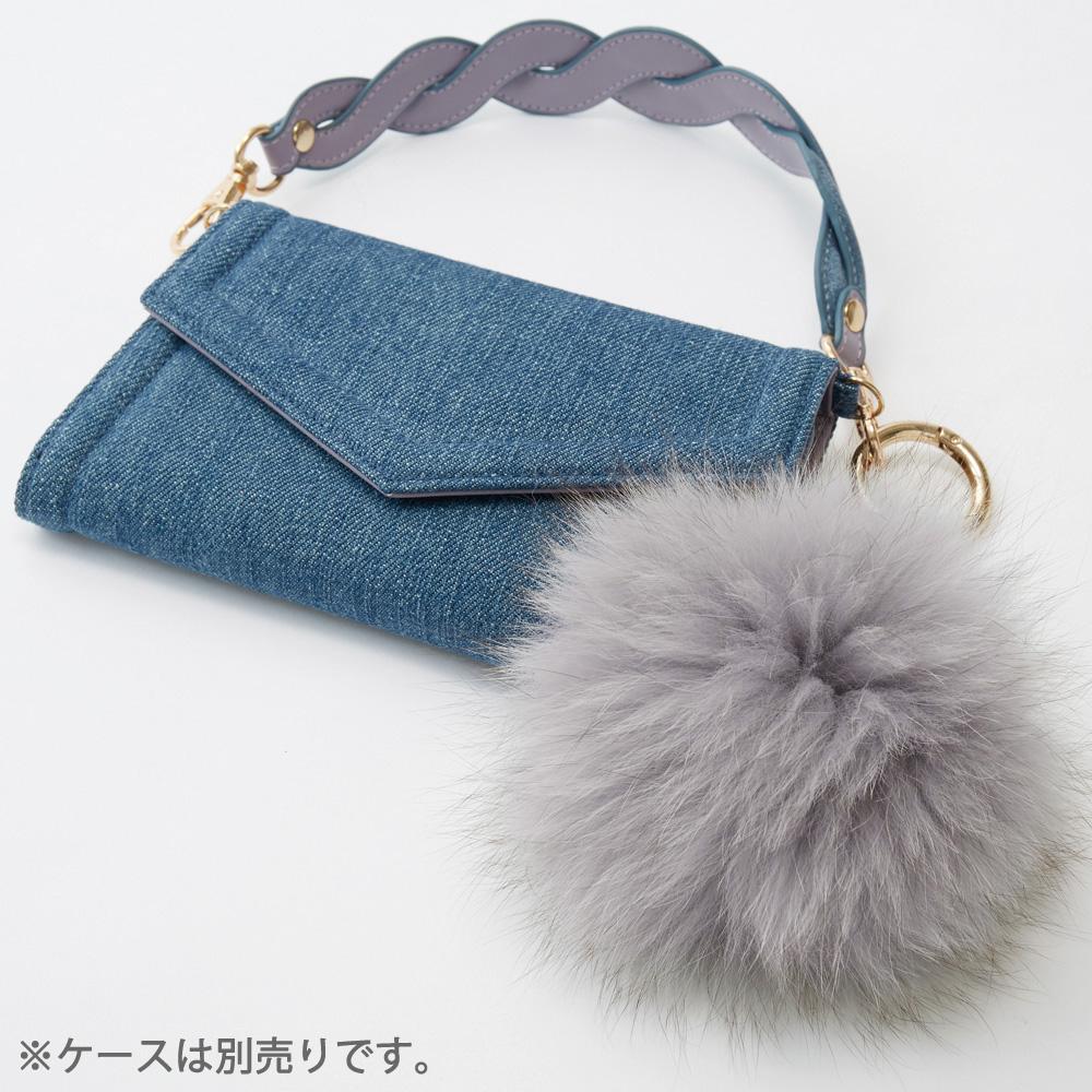 別売り FurCharm ファーチャーム Gray グレー【STARRY FEM スターリーフェム】