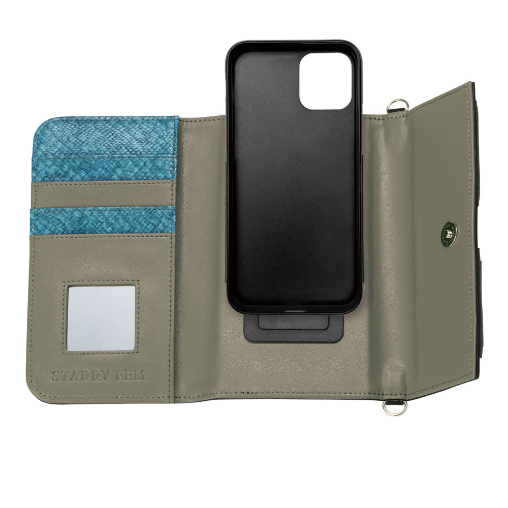 iPhone11/XR対応 LOOKWAY02 Black ルックウェイ02 ブラック【STARRY FEM スターリーフェム】