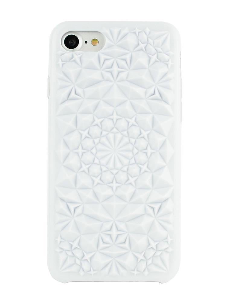 iPhoneSE第2世代/8/7 ハイブリッドケース 耐衝撃 FELONY CASE フェロニーケース KaleidoscopeXP ホワイト