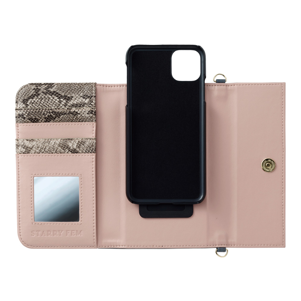 iPhone11ProMax/XSMax対応 LOOKWAY03 DarkGray ルックウェイ ダークグレー【STARRY FEM スターリーフェム】