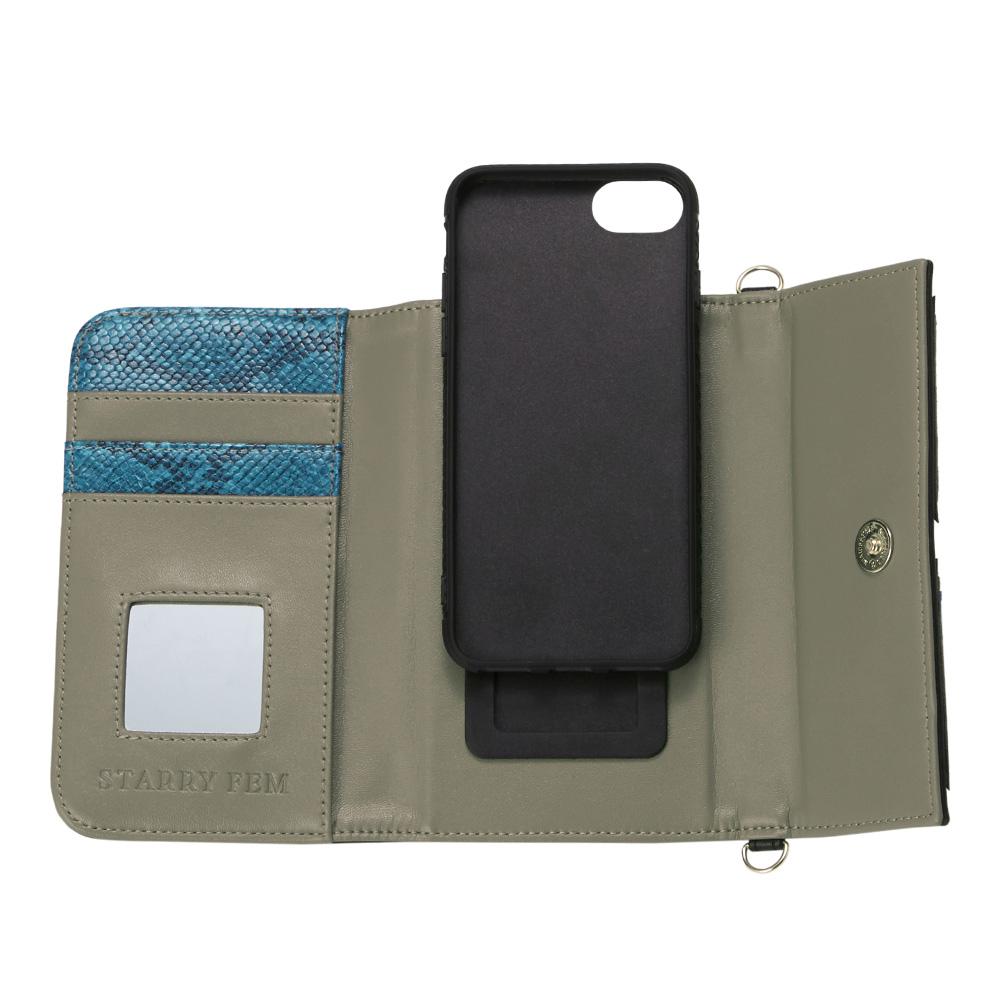 iPhoneSE(第2世代)8/7/6s/6対応 LOOKWAY02 Black ルックウェイ02 ブラック【STARRY FEM スターリーフェム】