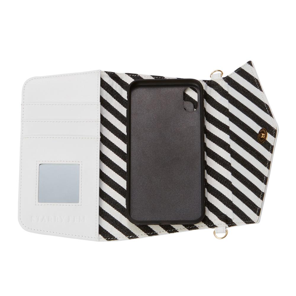 iPhoneXS/X対応 Rielsa02 Black リエルサ02 ブラック【STARRY FEM スターリーフェム】