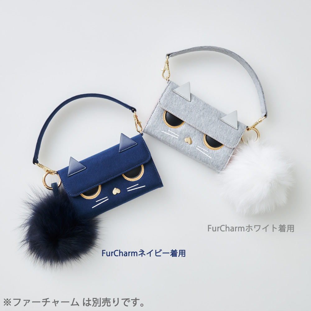 iPhone12/12Pro対応 Amalni04 Gray アマルニ04 グレー【STARRY FEM スターリーフェム】