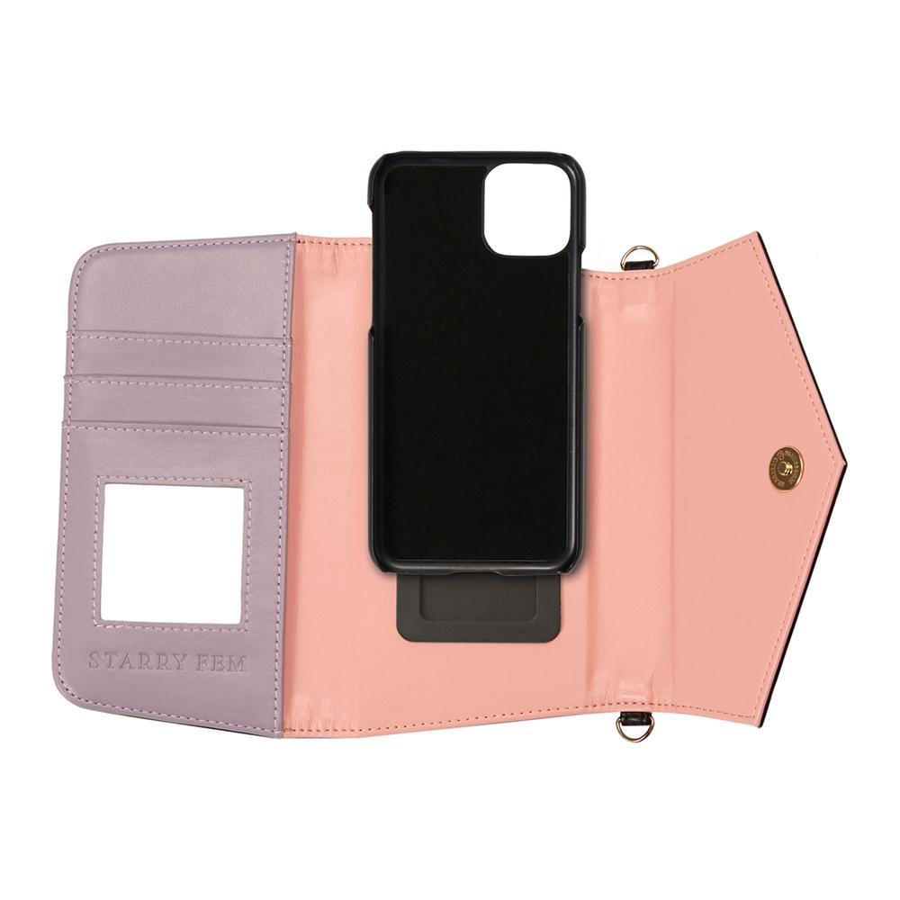 iPhone11Pro/XS/X対応 Rielsa03 Black リエルサ03 ブラック【STARRY FEM スターリーフェム】