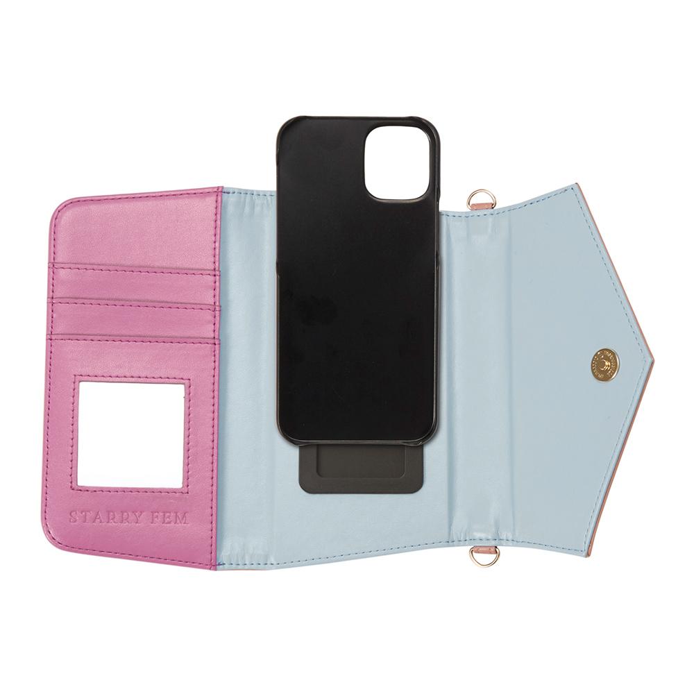 iPhone12/12Pro対応 Rielsa03 PinkBeige リエルサ03 ピンクベージュ【STARRY FEM スターリーフェム】