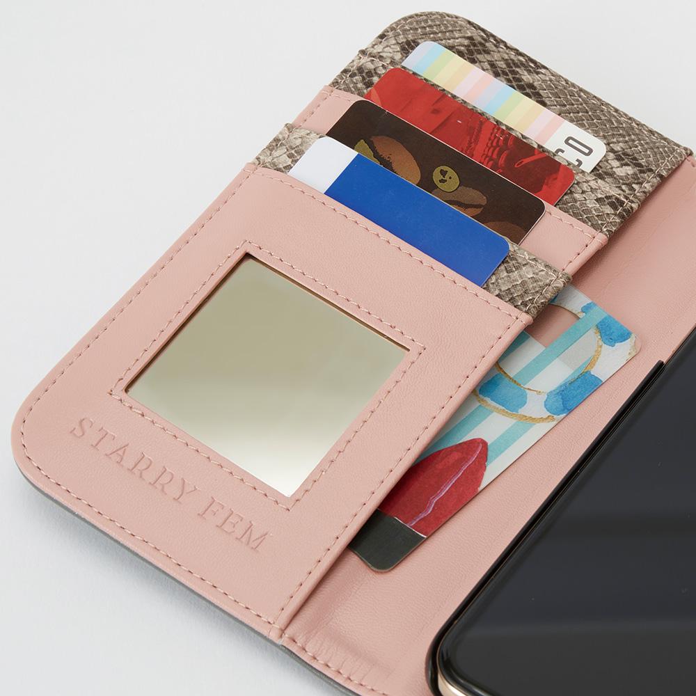 iPhone12/12Pro対応 LOOKWAY03 DarkGray ルックウェイ ダークグレー【STARRY FEM スターリーフェム】