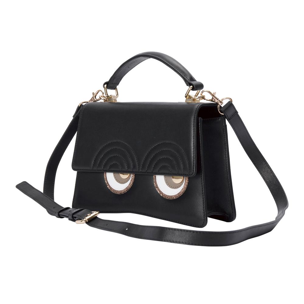 LOOKWAY Mini Bag01 本牛革ミニバッグ Black ブラック【STARRY FEM スターリーフェム】