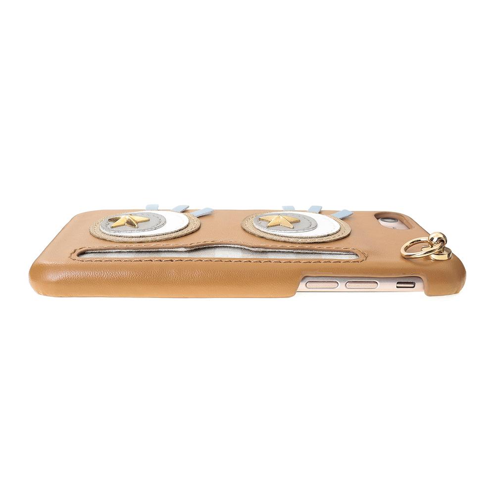 iPhoneSE(第2世代)8/7対応 Abby02 Brown アビー02 ブラウン【STARRY FEM スターリーフェム】