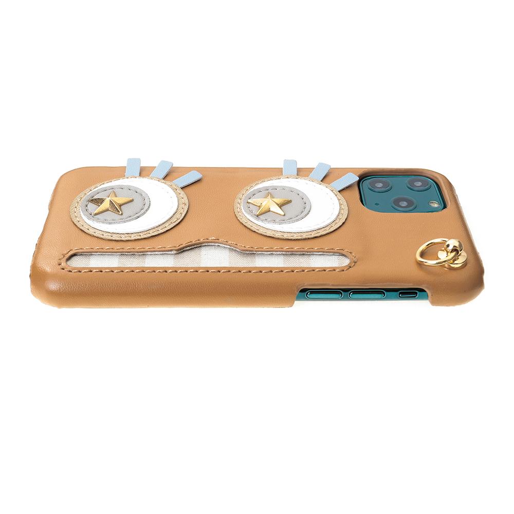 iPhone11Pro対応 Abby02 Brown アビー02 ブラウン【STARRY FEM スターリーフェム】