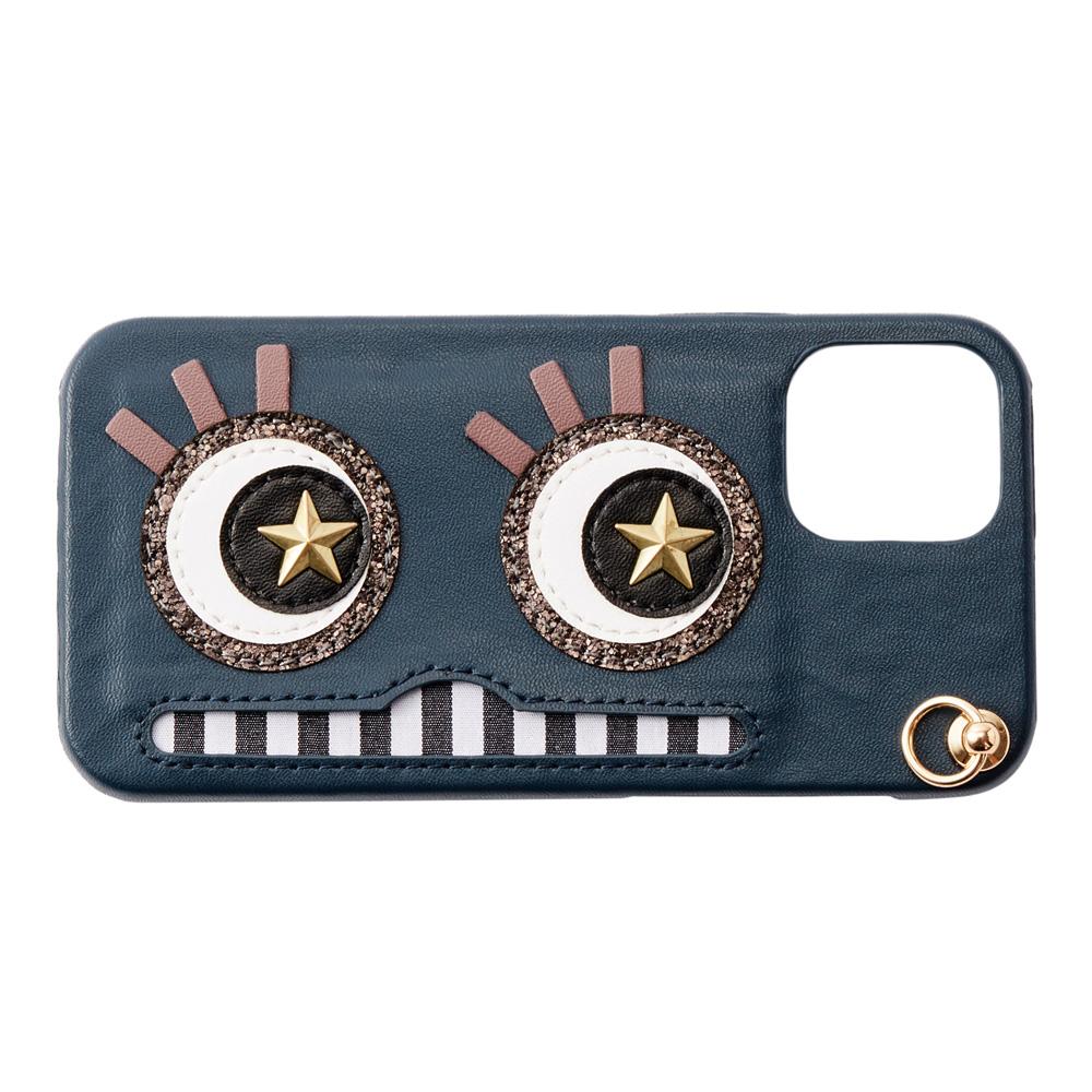 iPhone12/12Pro対応 Abby03 Navy アビー03 ネイビー【STARRY FEM スターリーフェム】