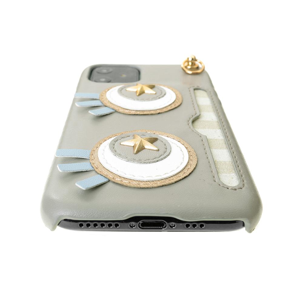 iPhone11/XR対応 Abby02 Gray アビー02 グレー【STARRY FEM スターリーフェム】