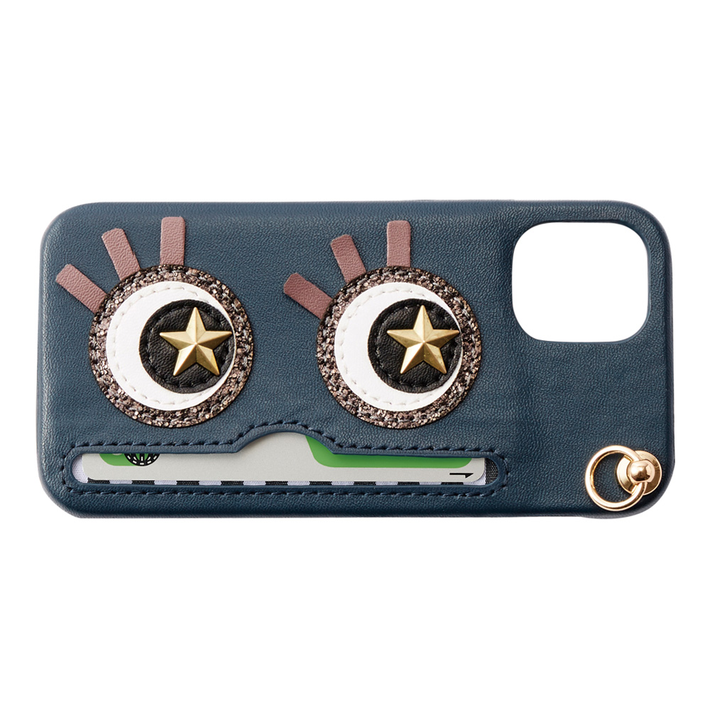 iPhone12ProMax対応 Abby03 Navy アビー03 ネイビー【STARRY FEM スターリーフェム】