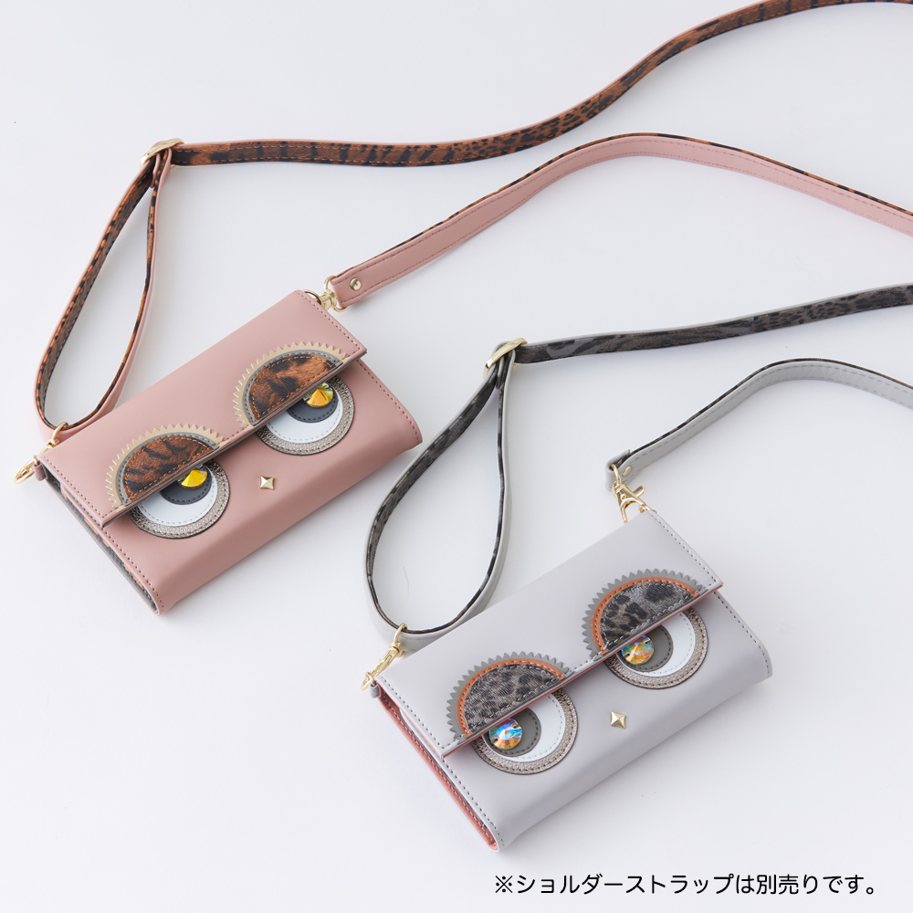iPhone11Pro/XS/X対応 LOOKWAY02 ルックウェイ アニマルピンク Pink【STARRY FEM スターリーフェム】