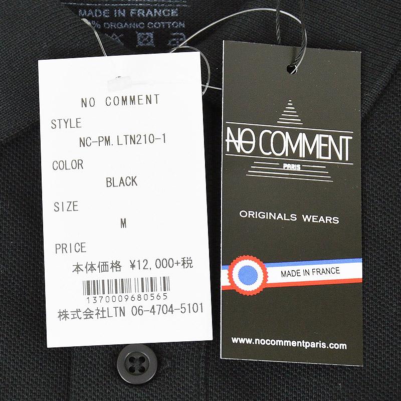 LN/NC-PM.LTN210-1<br>NO COMMENT PARIS(ノー・コメント パリ)<br>Golf Girl2 フォトプリント半袖ポロシャツ 【正規代理店仕入れ】