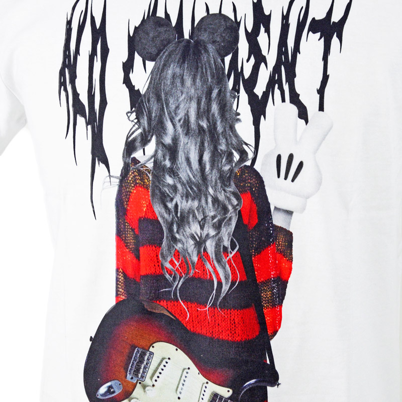 LN/NC-TM.LTN212-1<br>NO COMMENT PARIS(ノー・コメント パリ)<br>Grune Girl フォトプリント半袖Tシャツ 【正規代理店仕入れ】