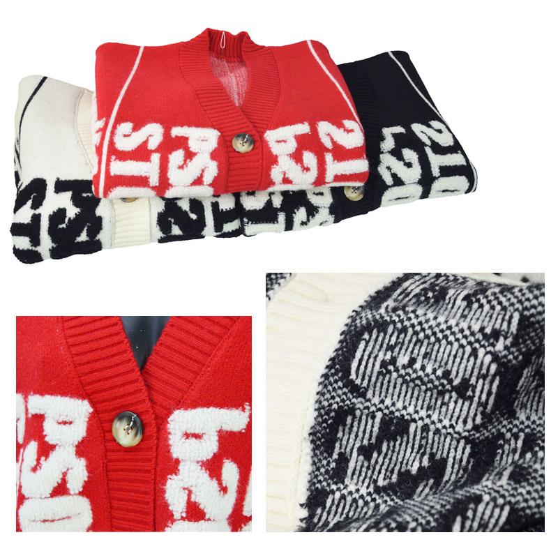 BB/WY0209<br>atrium102 Buyer's Select 渋谷・原宿・トレンドカジュアルLADIES<br>英字ニットカーディガン