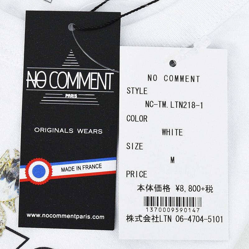 LN/NC-TM.LTN218-1<br>NO COMMENT PARIS(ノー・コメント パリ)<br>Crown Girlフォトプリント半袖Tシャツ 【正規代理店仕入れ】