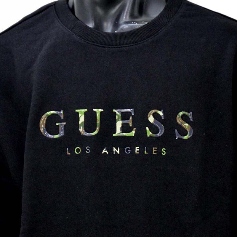S11/MJ4K8518MI<br>GUESS(ゲス)Los Angeles<br>長袖 スウェット トレーナー【正規ライセンス品】