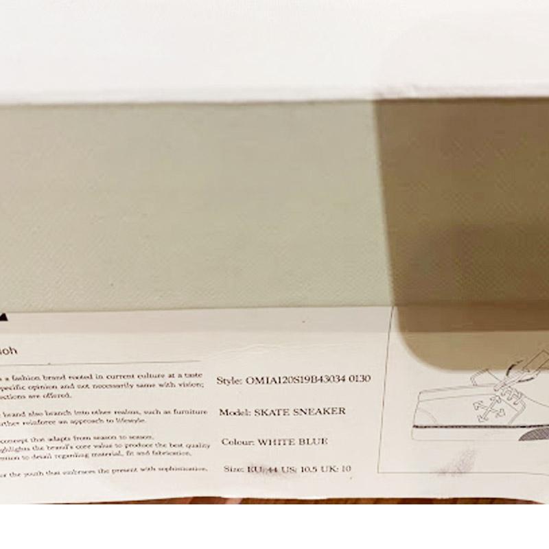 GR/OMIA120S19B43034<br>OFF-WHITE(オフホワイト)<br>靴 スケートシューズ MIA120S1984【並行輸入】
