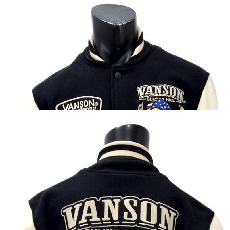 NE/MCLV-901<br>VANSON(バンソン)<br>×ワーナー・ブラザースLOONY TUNE atrium102別注数量限定 TWEETY刺繍STADIUM JACKET