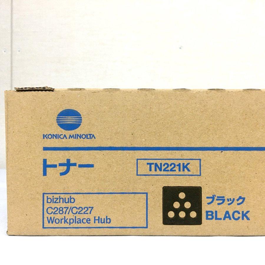 コニカミノルタ 純正トナーカートリッジ TN221K ブラック bizhubC287 bizhubC227