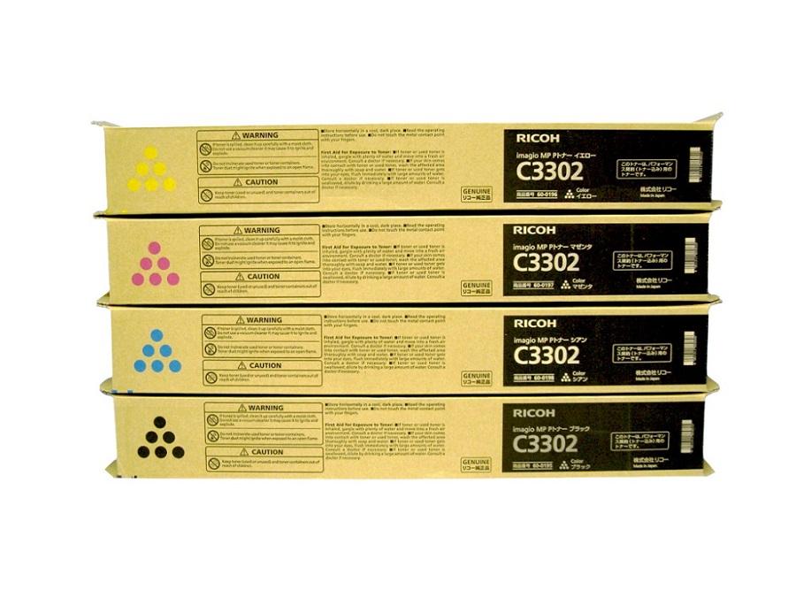 純正トナーカートリッジ リコー imagio MP Pトナー C3302 4色セット imagio MP C2802 C3302 末尾SP SPF対応