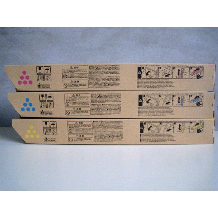 純正トナーカートリッジ リコー imagio MP Pトナー C3302 カラー3色セット imagio MP C2802 C3302