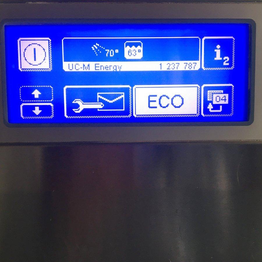 中古 厨房機器 2018年製 ウィンターハルター アンダーカウンタータイプ食器洗浄機 UC-M 幅600 奥637 高800mm 3相200V