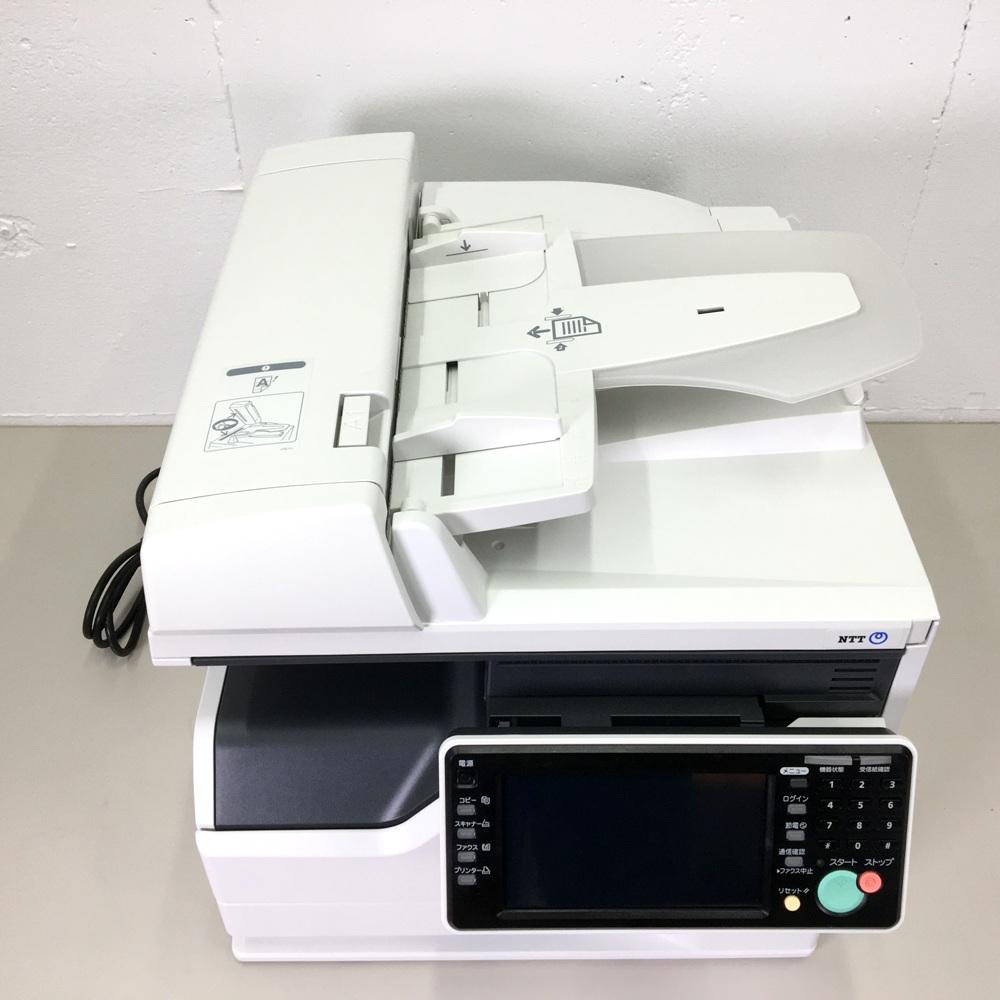 【送料無料】A4モノクロ複合機 NTT L-320 コピー プリンター ファクス最大送信サイズA3対応 A3カラースキャナー カセット1段 LAN USB 自動両面【中古】