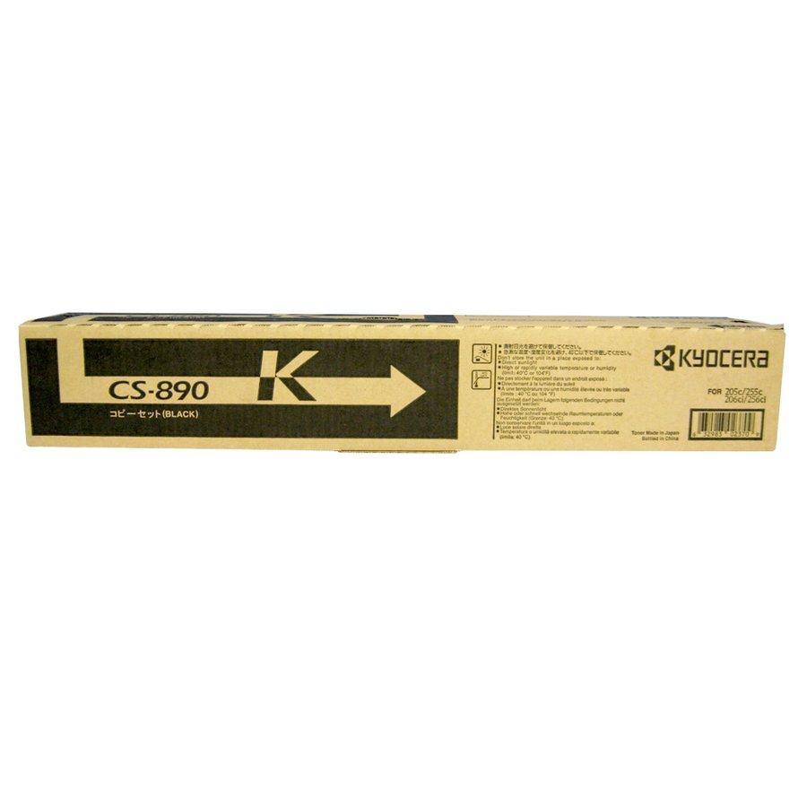純正トナーカートリッジ 京セラ CS 890K ブラック TASKalfa205c 206ci 255c 256ci