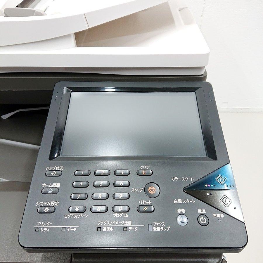 中古 カラー複合機 2019年製 シャープ MX-C302W カウンタ超極小35枚 コピー FAX プリンター スキャナー 最大原稿A4 インターフェースUSB2.0 LAN 無線LAN