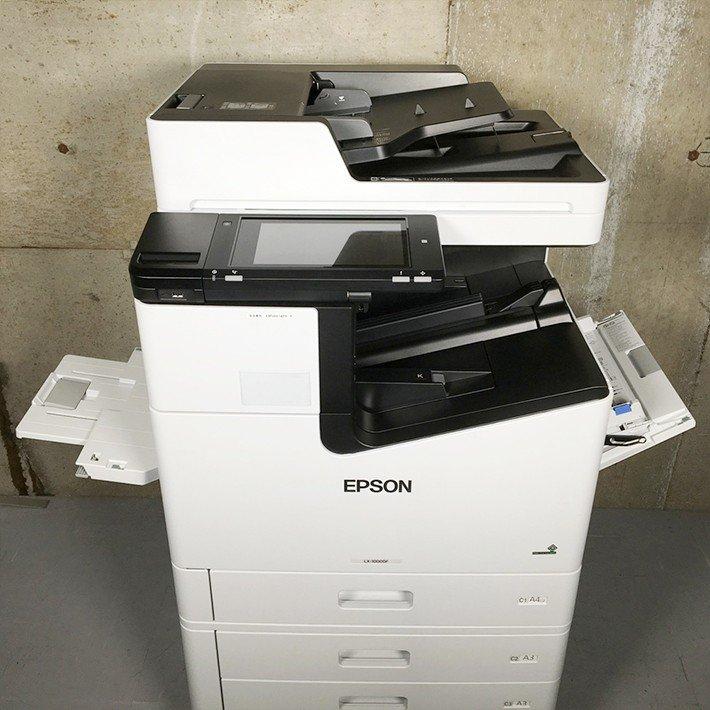 中古 カラー複合機 EPSON エプソン 高速ビジネス インクジェットプリンター LX 10000F 高速プリント毎分100枚 A4 印刷関係業務