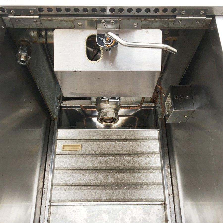 中古 厨房機器 2012年製 マルゼン 涼厨ガスフライヤー MFG-C18J 都市ガス用 18L 幅430×奥600×高800×バック150mm