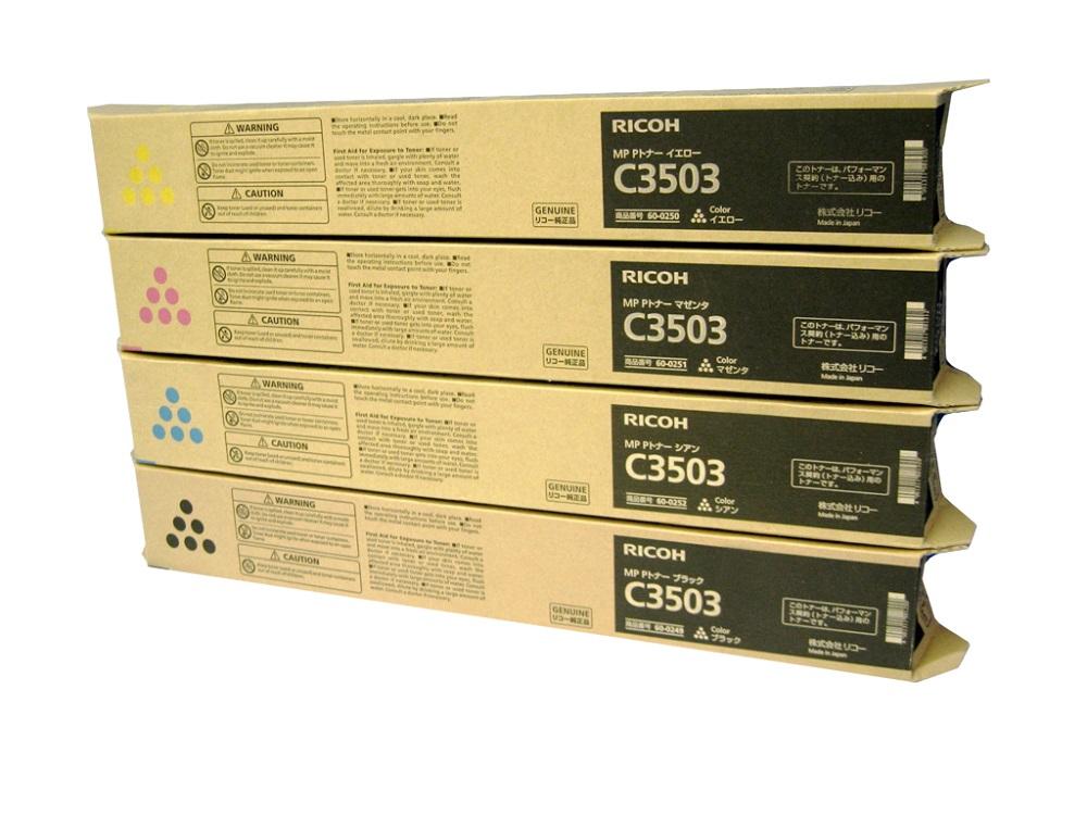 純正トナーカートリッジ リコー imagio MP Pトナー C3503 4色セット imagio MP C3003 imagio MP C3503