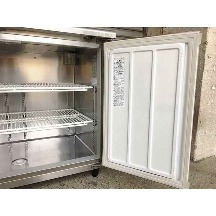 中古 厨房機器 2014年製 大和冷機 台下冷蔵コールドテーブル 4161CD NP EC 幅1200 奥600 高800mm 定格内容積237L